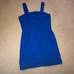Royal Blue Tank Dress